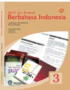 Aktif & Kreatif Berbahasa Indonesia (Bahasa) Kelas 12