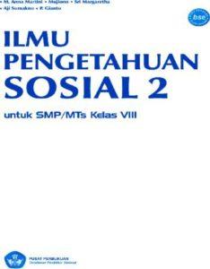 Ilmu Pengetahuan Sosial 2 (IPS) Kelas 8
