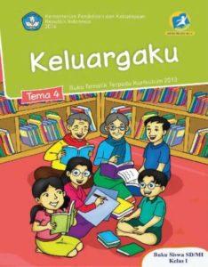 Buku Siswa Tematik 4 Keluargaku Kelas 1 Revisi 2014