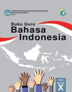 Buku Guru Bahasa Indonesia Kelas 10 Revisi 2016