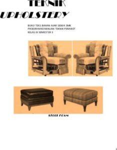 Teknik Upholstery 3 Kelas 11 SMK