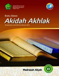 Buku Siswa Akidah Akhlak Kelas 12 Revisi 2016