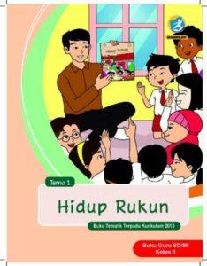 Buku Guru Tema 1 Hidup Rukun Kelas 2 Revisi 2017