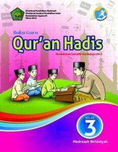 Buku Guru Qur'an Hadis Kelas 3 Revisi 2016