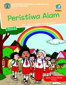 Buku Siswa Tema 8 Peristiwa Alam Kelas 1 Revisi 2017