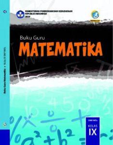 Buku Guru Matematika Kelas 9 Revisi 2018
