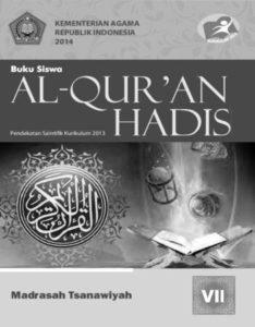 Buku Siswa Al-Qur'an Hadis Kelas 7 Revisi 2014