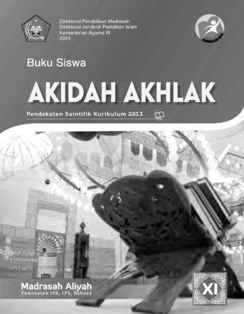 Buku Siswa Akidah Akhlak Kelas 11 Revisi 2015