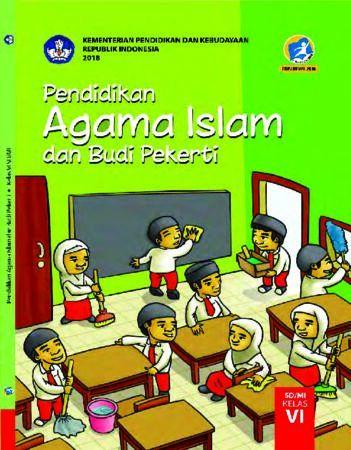 Buku Siswa Pendidikan Agama Islam dan Budi Pekerti Kelas 6 Revisi 2018