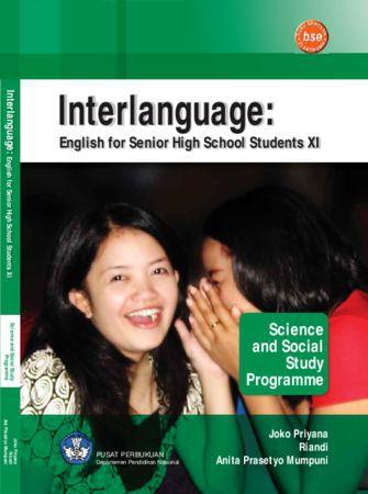 Interlanguange : English for Senior High School Students XI Kelas 11