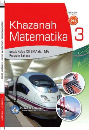 Khazanah Matematika 3 (Bahasa) Kelas 12