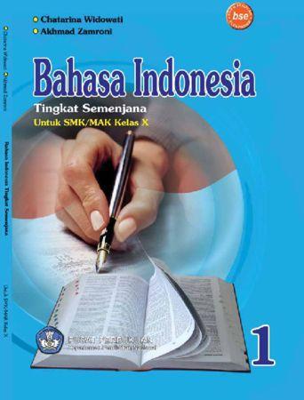 Tingkat semenjana bahasa Indonesia Kelas 10 SMK