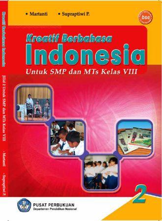 Kreatif Berbahasa Indonesia 2 Kelas 8