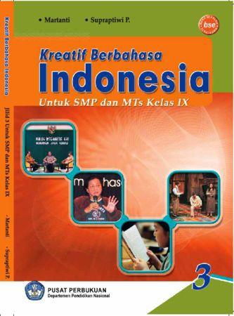 Kreatif Berbahasa Indonesia 3 Kelas 9