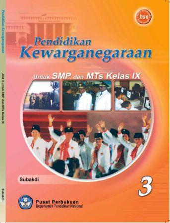 Pendidikan Kewarganegaraan 3 Kelas 9