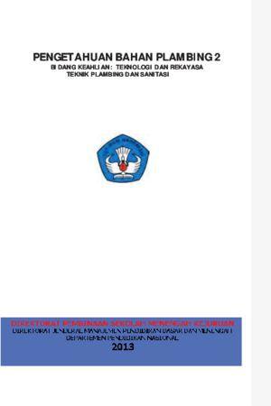 Pengetahuan Bahan Plambing 2 Kelas 10 SMK