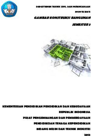 Gambar Konstruksi Bangunan 3 Kelas 11 SMK