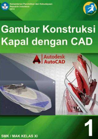 Gambar Konstruksi Kapal dengan CAD 1 Kelas 11 SMK