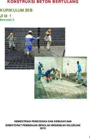 Konstruksi Beton Bertulang 1 Kelas 11 SMK