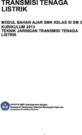 Transmisi Tenaga Listrik 3 Kelas 11 SMK