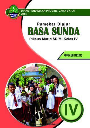 Buku Siswa Basa Sunda 4 Kelas 4 Revisi 2013