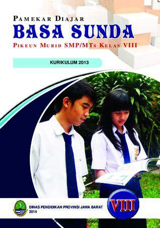 Buku Siswa Basa Sunda 8 Kelas 8 Revisi 2013
