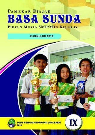 Buku Siswa Basa Sunda 9 Kelas 9 Revisi 2013