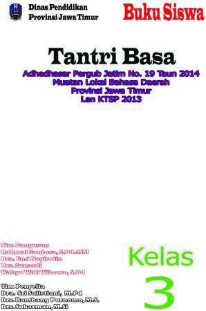 Buku Siswa Tantri Basa 3 Kelas 3 Revisi 2016