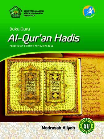 Buku Guru Al-Quran Hadis Kelas 12 Revisi 2016