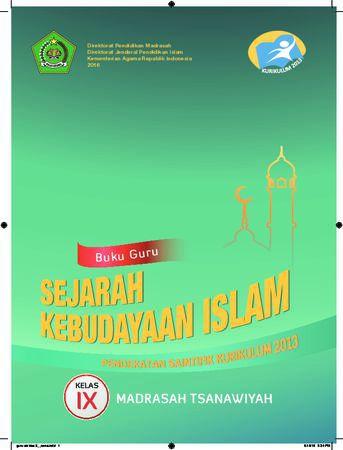 Buku Guru Sejarah Kebudayaan Islam Kelas 9 Revisi 2016