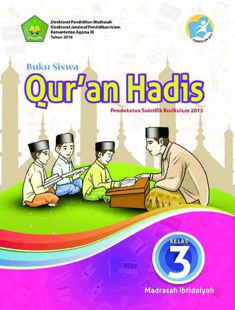 Buku Siswa Qur'an Hadis Kelas 3 Revisi 2016