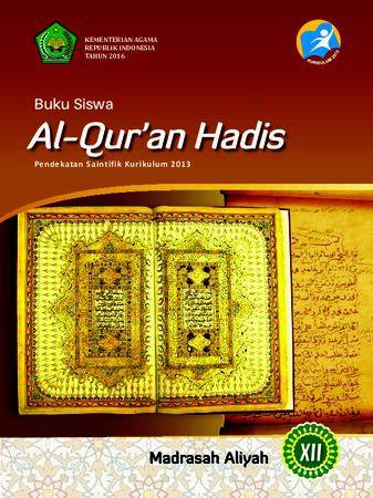 Buku Siswa Al-Qur'an Hadis Kelas 12 Revisi 2016