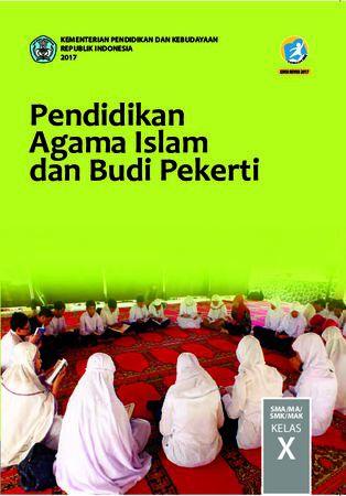 Buku Siswa Pendidikan Agama Islam dan  Budi Pekerti Kelas 10 Revisi 2017
