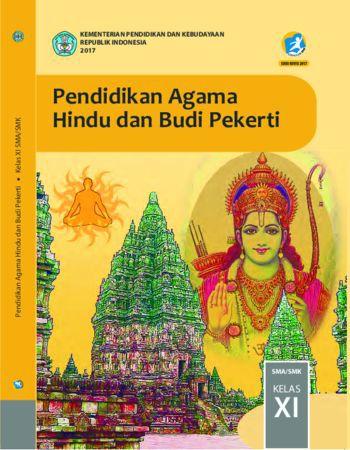 Buku Siswa Pendidikan Agama Hindu dan  Budi Pekerti Kelas 11 Revisi 2017