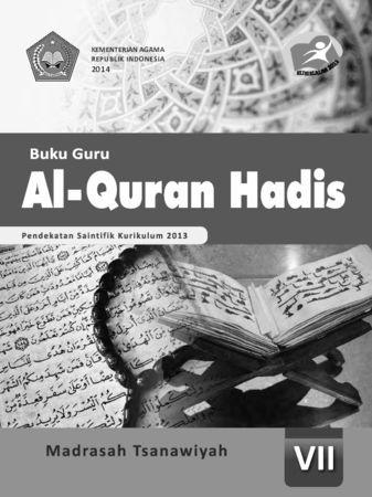 Buku Guru Al-Qur'an Hadis Kelas 7 Revisi 2014
