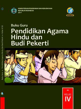 Buku Guru Pendidikan Agama Hindu dan  Budi Pekerti Kelas 4 Revisi 2017
