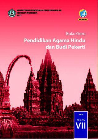 Buku Guru Pendidikan Agama Hindu dan  Budi Pekerti Kelas 7 Revisi 2017