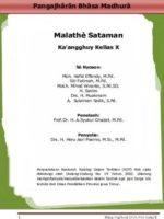Buku Siswa Malathe Sataman 10 Kelas 10 Revisi 2014